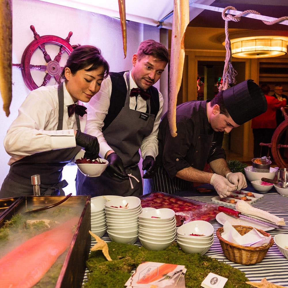 Bureau18 für Restaurant Theater Casino Zug